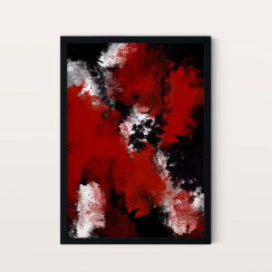 Abstract Red NO1