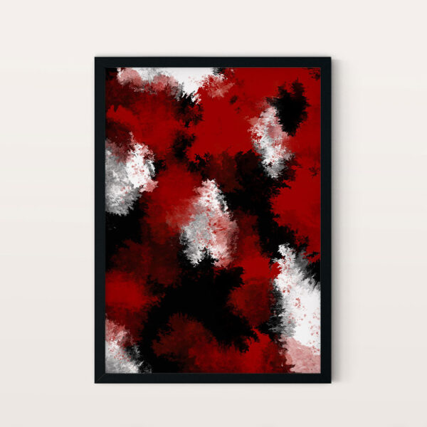 abstract red no2